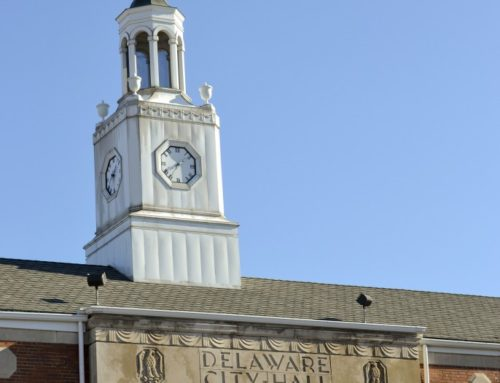 Delaware City Hall Cupola