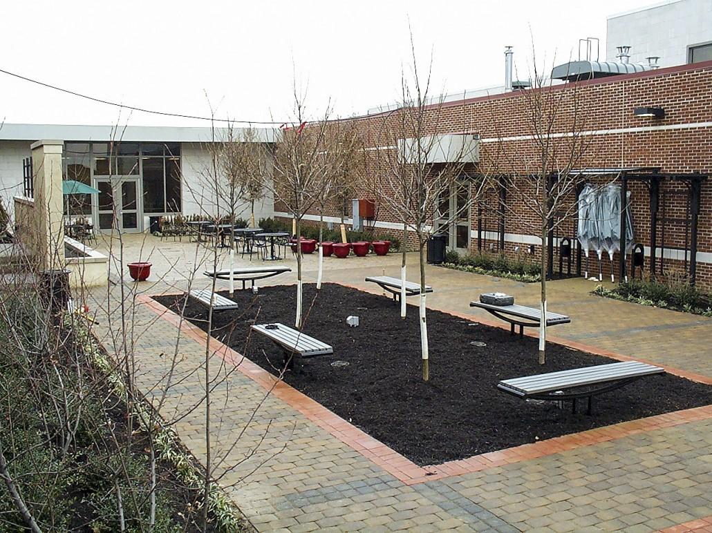 OSU Shisler Courtyard